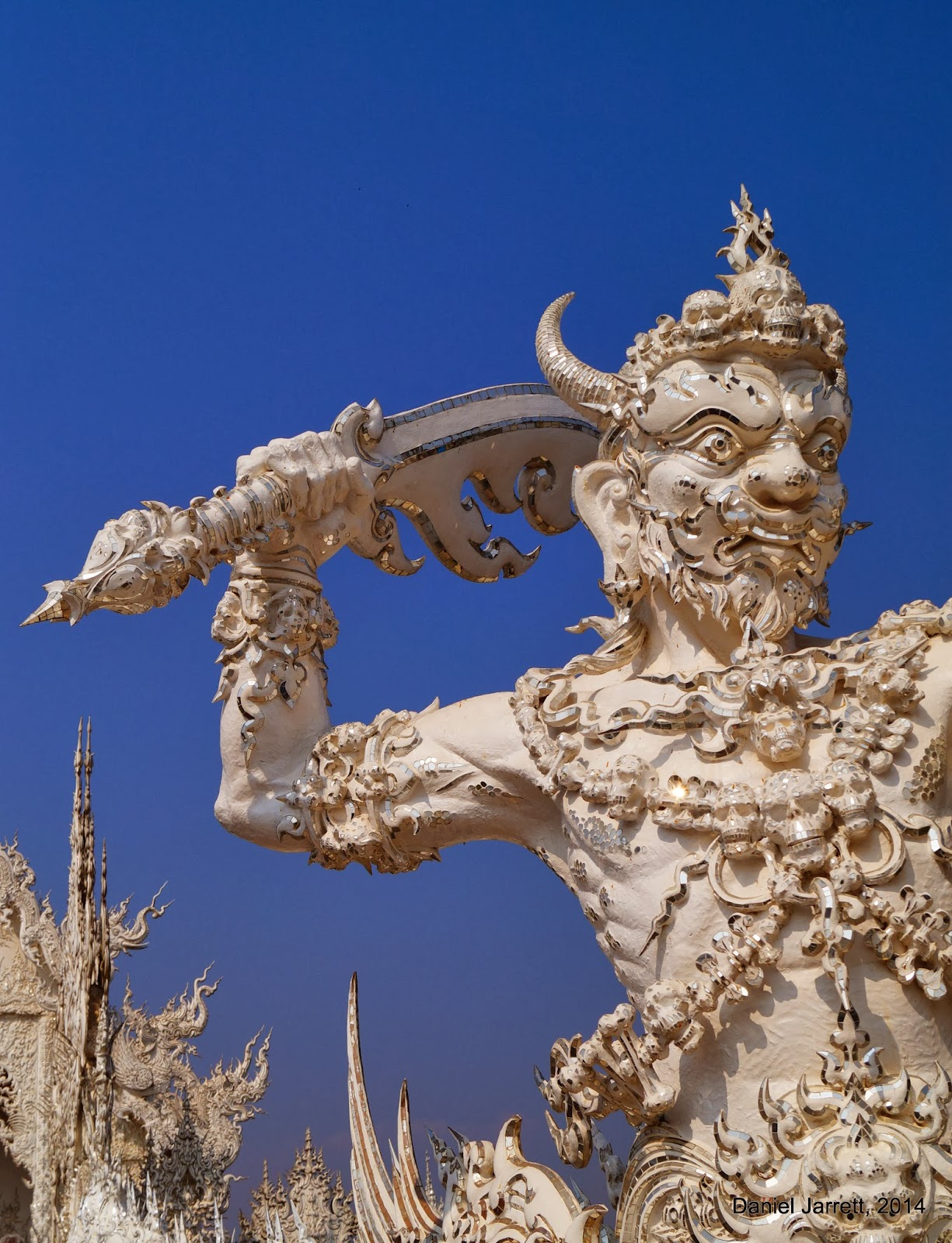 Wat Rong Khun Warrior Chiang Rai