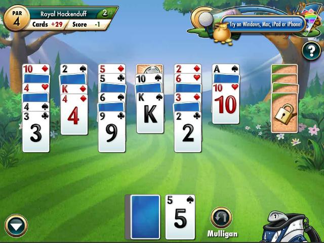 fairway golf solitaire free