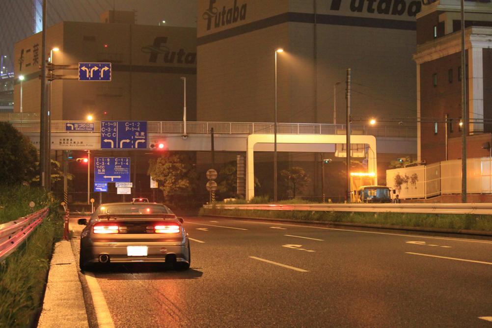 Nissan Fairlady Z, 300ZX, Z32, rear, tył, miasto nocą, Japonia, kultowe auto, najlepsze sportowe samochody, JDM