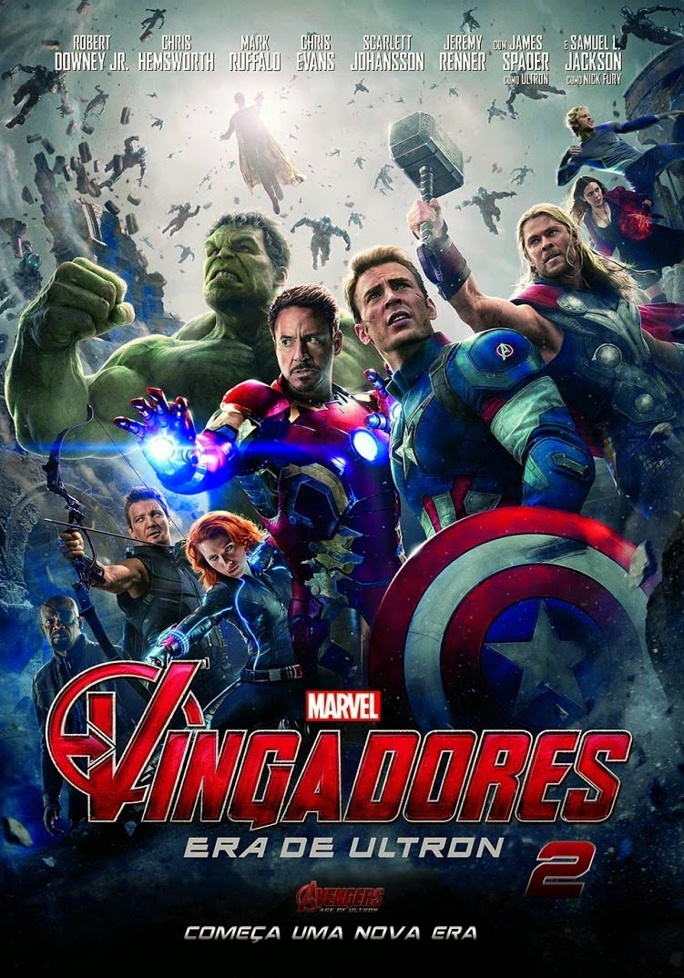 Vingadores: Era de Ultron 3D Torrent - BluRay 1080p Dublado