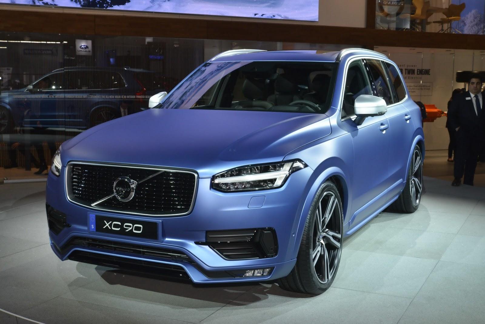 Volvo North America Volvo39s 2016 Xc90 R Design Makes North American Debut In A Cool