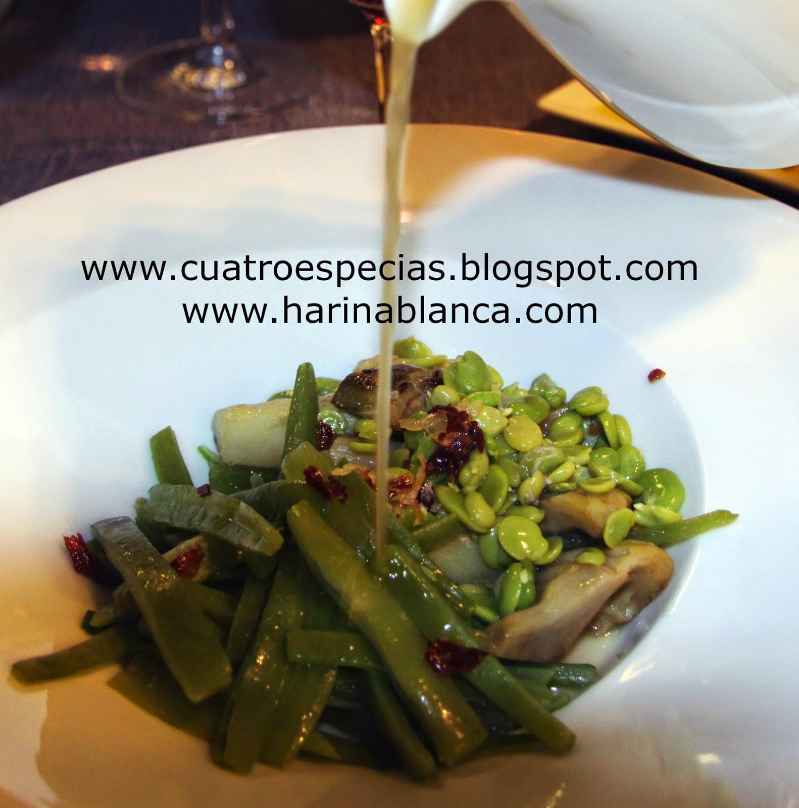 www.cuatroespecias.blogspot.com. MENESTRA EN SU JUGO