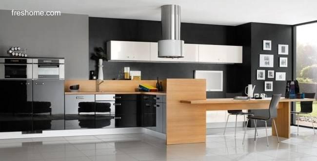 Arquitectura de casas fotos de dise os de cocinas para casas for Tipos de cocina arquitectura