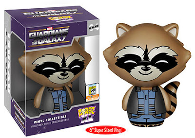 "San Diego Comic-Con 2015 Exclusive Guardians of the Galaxy Rocket Raccoon Dorbz XL 6"" Vinyl Figure by Funko"