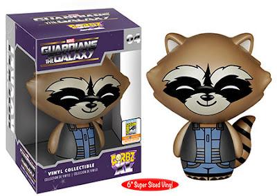 """San Diego Comic-Con 2015 Exclusive Guardians of the Galaxy Rocket Raccoon Dorbz XL 6"""" Vinyl Figure by Funko"""