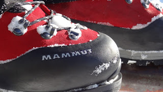 Mammut Boots and Snow