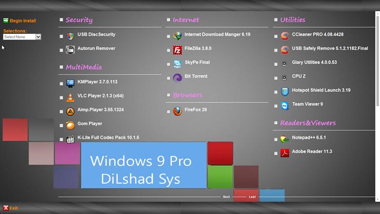 Download Windows 9 Pro 2014 Full Version 64Bit