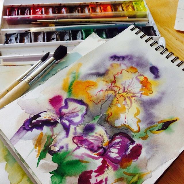 рисунок севастопольской художницы