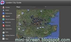 London City Guide BB Playbook App