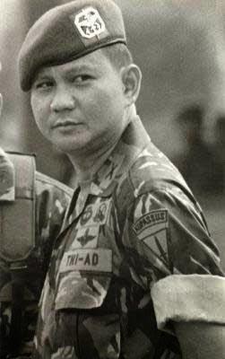 Jakarta - komandan pusat polisi militer (danpuspom) tni 1998-2002