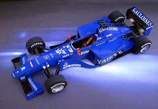 Papercraft F1 Prost Peugeot AP03