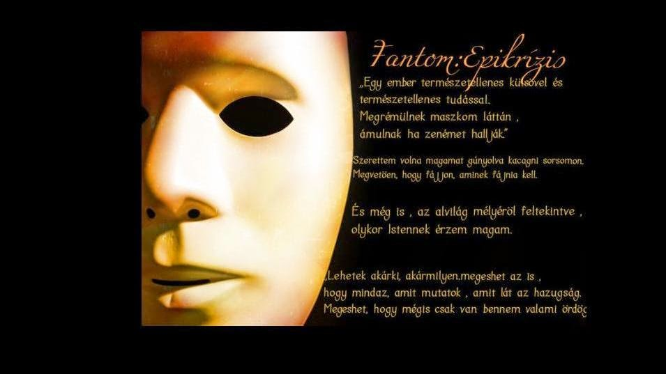 Ebony M. - Fantom: Epikrizis- Blogregény Susan Kay műve nyomán