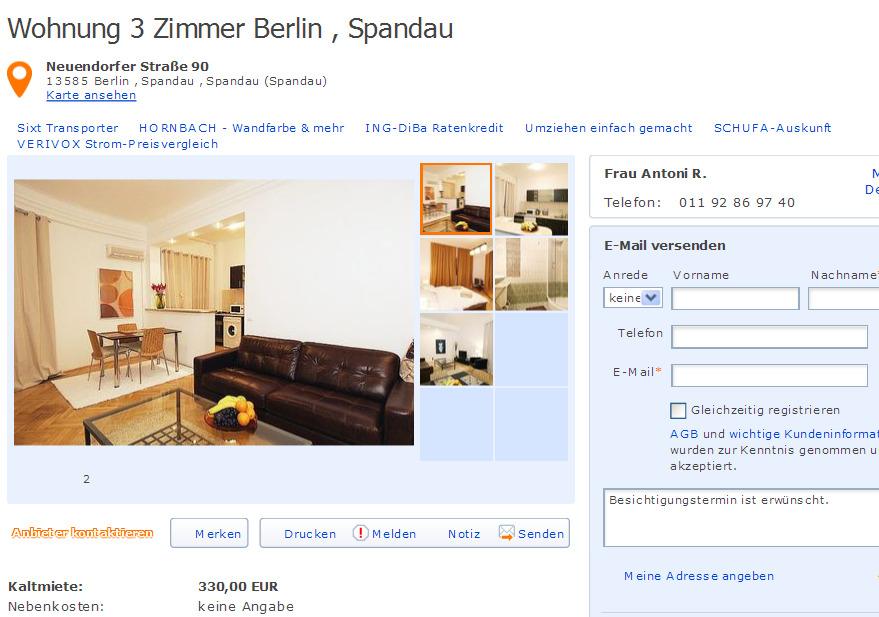 antoniaru19 alias antonia ruben viele st dte vorkassebetrug fraud scam. Black Bedroom Furniture Sets. Home Design Ideas