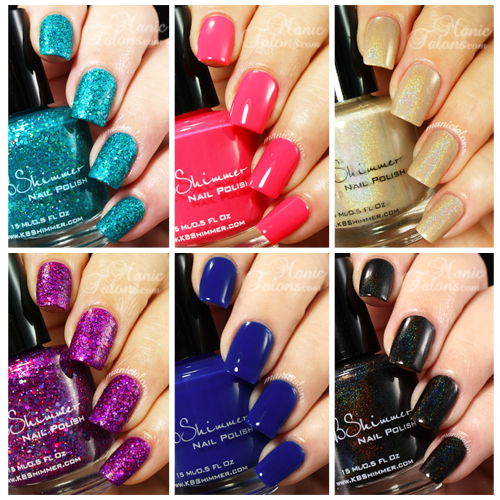 KBShimmer Early Summer Collection 2014 Swatches