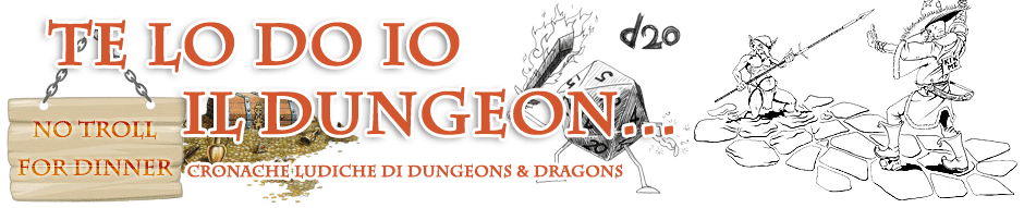 Te lo do io il Dungeon, cronache di Dungeon and Dragons a Mystara (Este-PD)