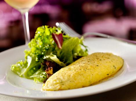 Omelete estilo francês