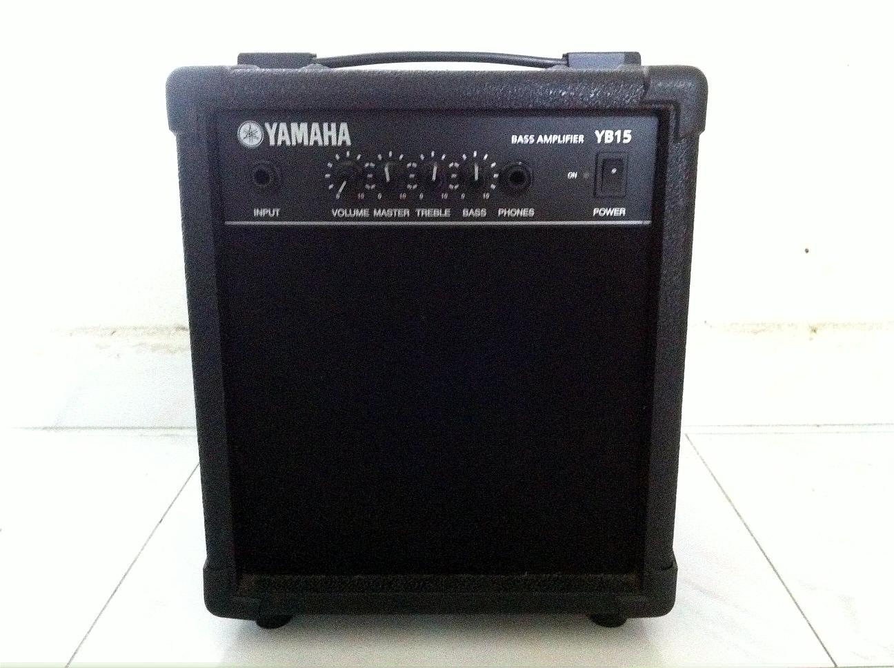 wah wah storeroom sold yamaha yb15 bass amp