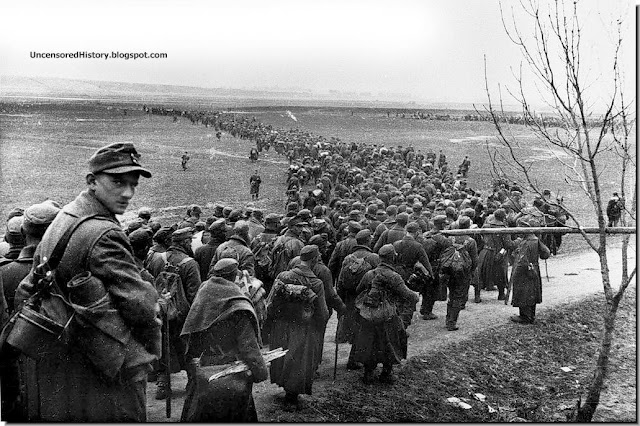 German soldiers Koenigsberg surrender after  Soviet army stormed  April 9, 1945