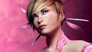 Pink Sugar Girl Love Wallpaper
