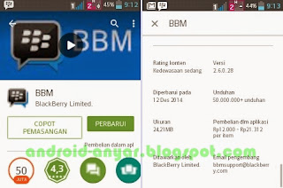 Free download official BBM Android v.2.6.0.28.apk Full