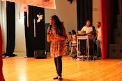مشاركة الطفلة حنين نعيم الزوى فى الاحتفال فى مسرح الطفل