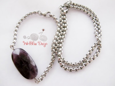 Stainless Steel Bracelet by Wirebliss