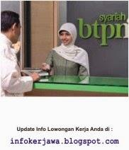 Lowongan Kerja Bank BTPN Syariah