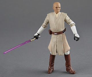 "Hasbro Star Wars The Black Series 3.75"" General Mace Windu Figure"