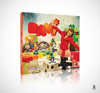 Capa CD Davi - Crianças Diante do Trono
