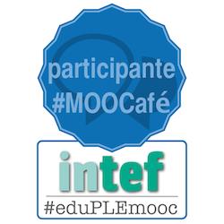 Badge participante #MOOCafé de #eduPLEmooc