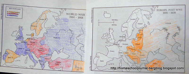 All things beautiful after wwi the twenties and presidents maps from knowledge quest we compared the maps of world war i and europe post world war i especially looking at the countries that did not previously exist sciox Images