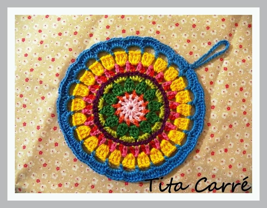 Mandala Turca em crochet