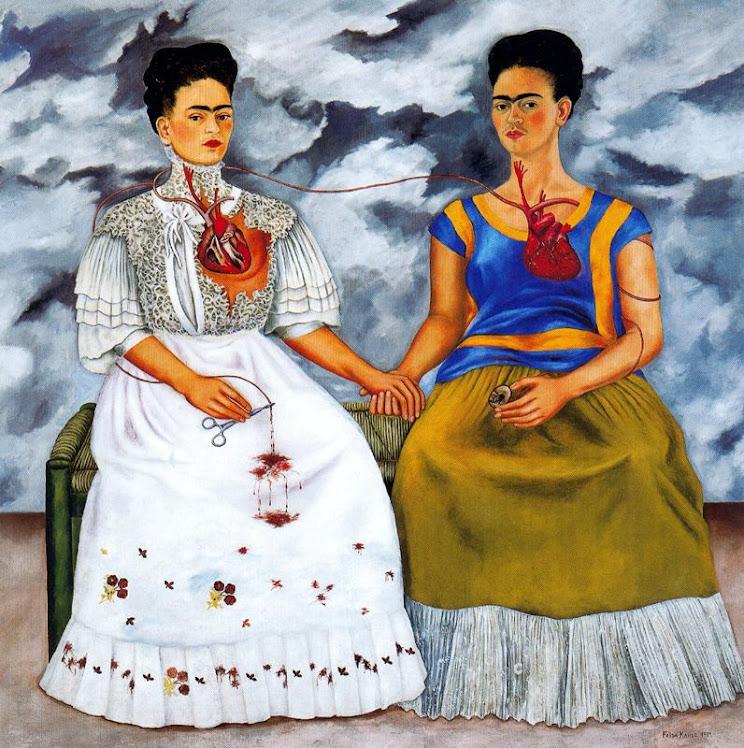 Las dos Fridas, de Frida Kahlo