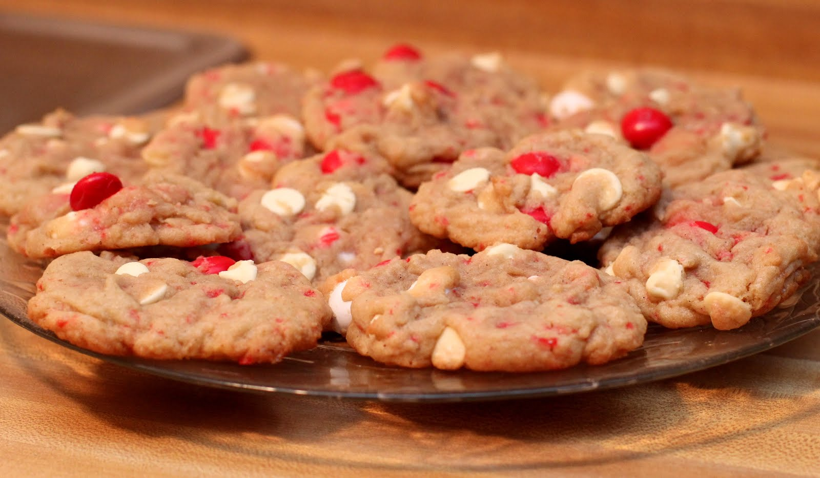 White Chocolate Peppermint M M Cookies Chicago Foodie Girl
