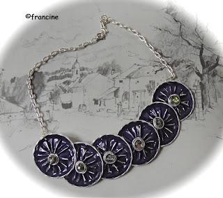 francine bricole bracelets marguerites capsules nespresso. Black Bedroom Furniture Sets. Home Design Ideas