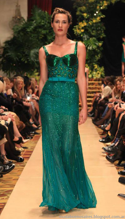Vestidos moda 2014 Jorge Ibañez coleccion.