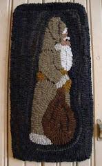 Belsnickle Hooked Rug