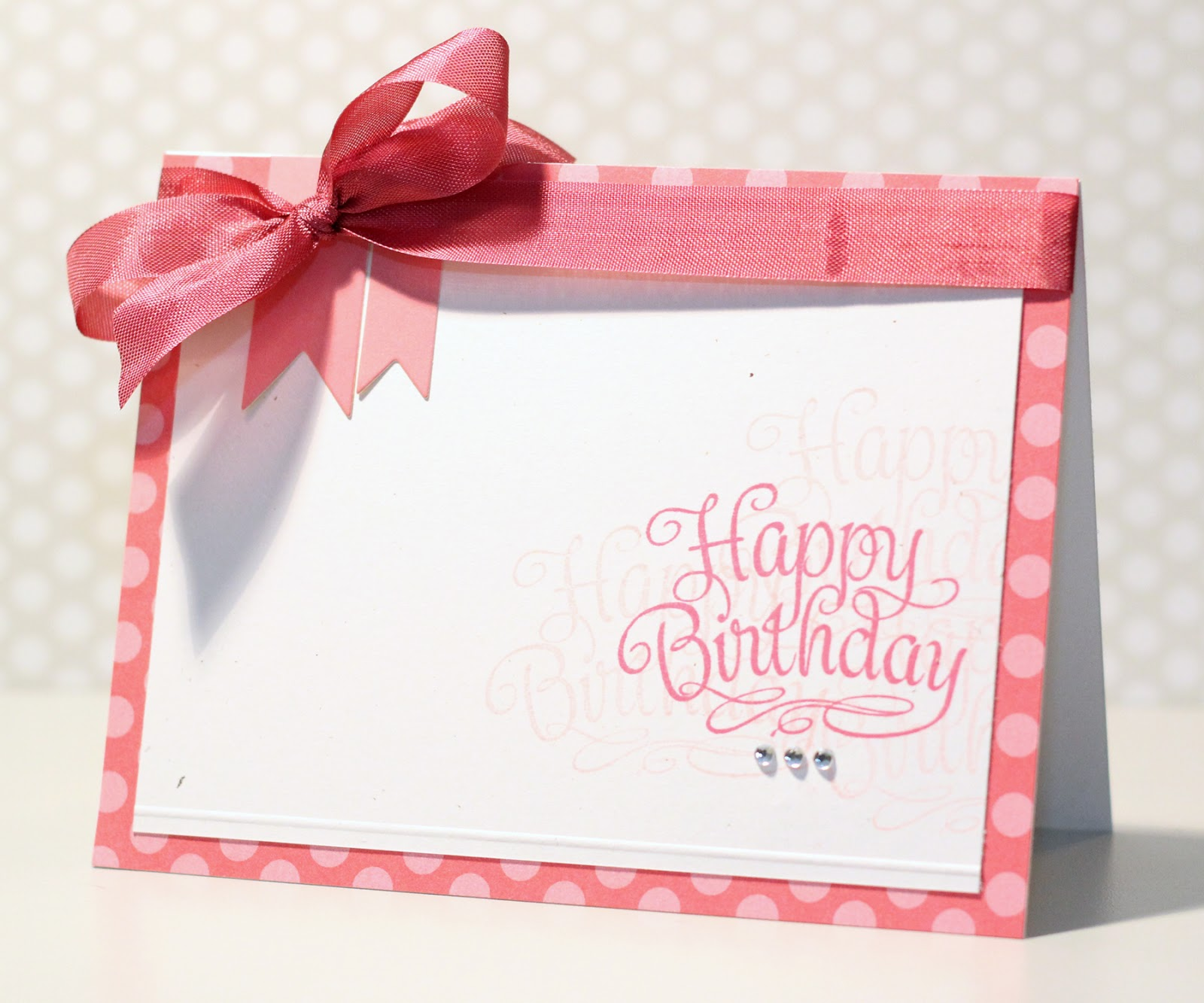 Happy Birthday Card With Name And Photo Editor Erin Taylor Designs Great Impressions Stamps Blingy