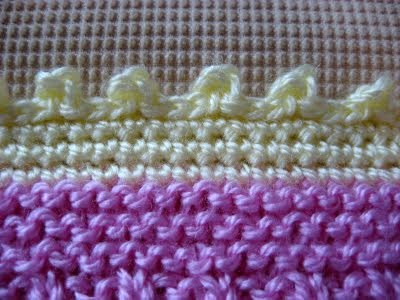 Crochet-picot-border