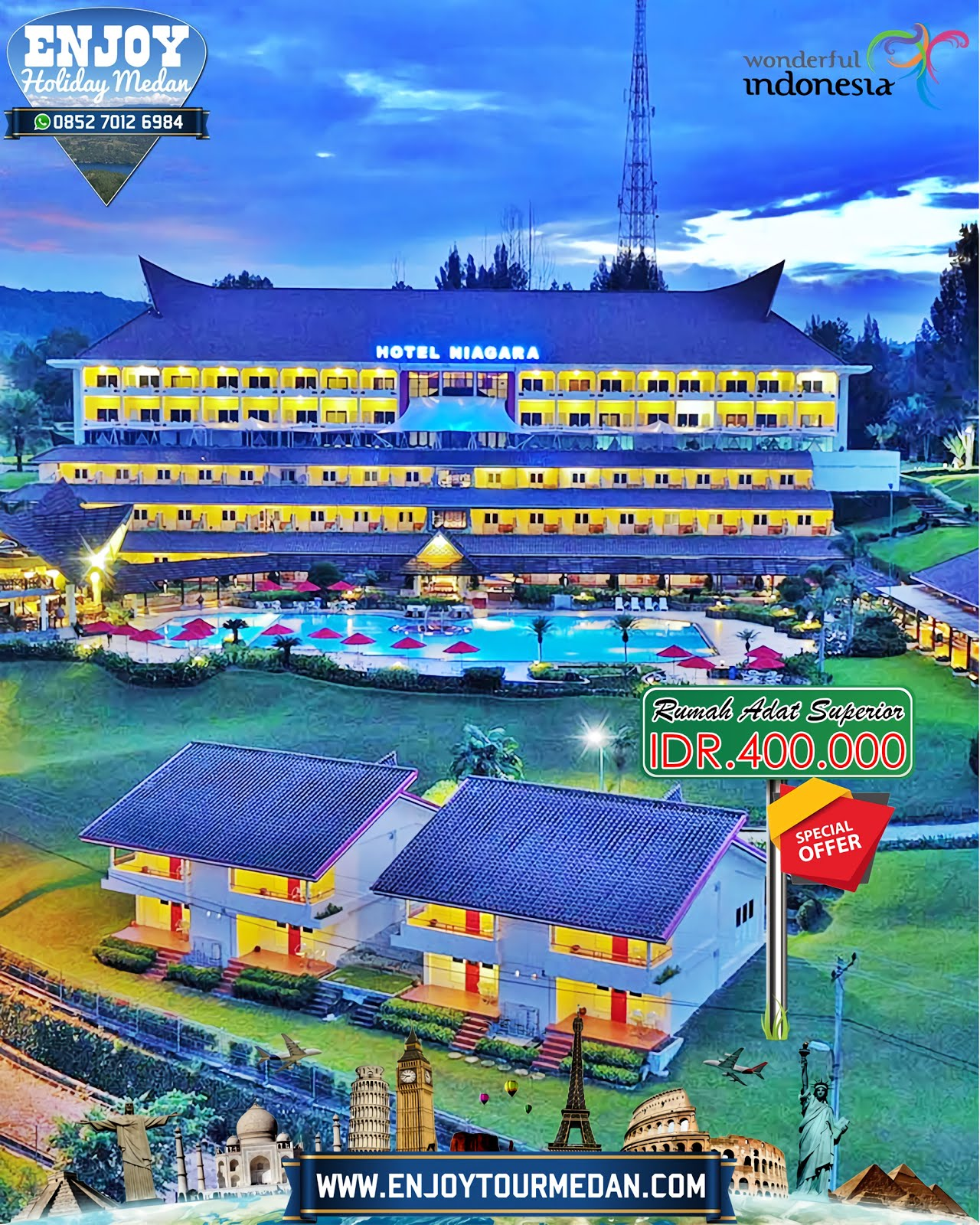Promo September Ceria - Niagara Hotel Danau Toba