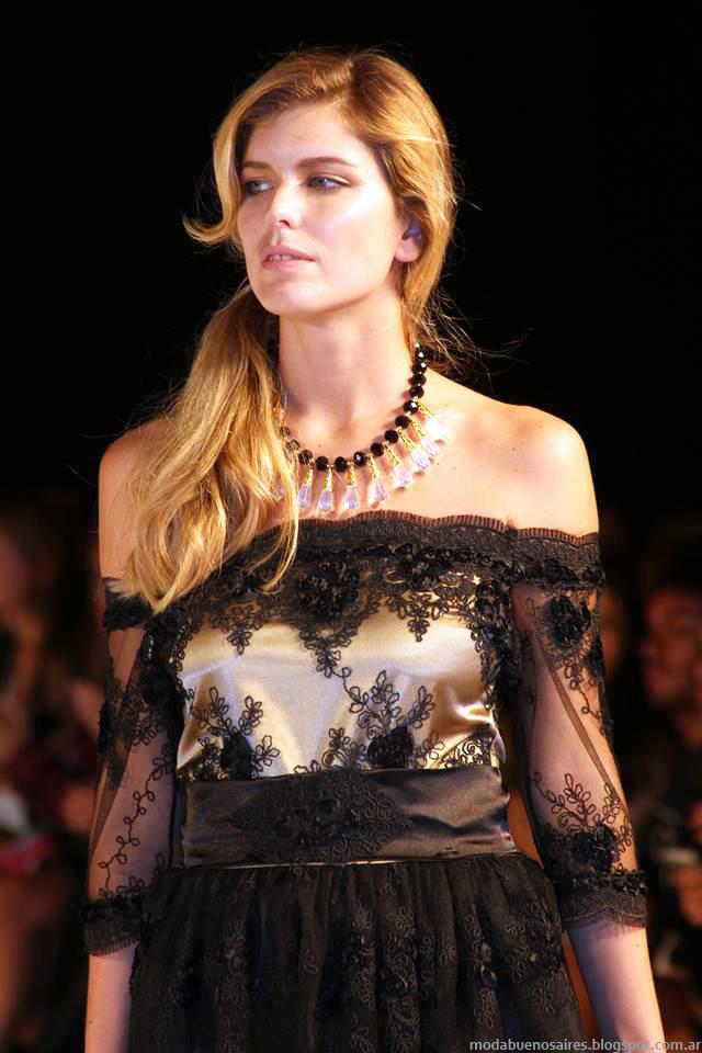 Almendra Peralta Ramos vestidos invierno 2014.