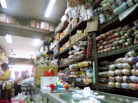 Rajut Merajut, toko benang offline, belanja benang, beli benang, benang rajut, pasar pagi asemka