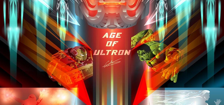 Trailer estendido e artes inéditas de Vingadores: Era de Ultron