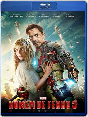 Download Homem de Ferro 3 720p e 1080p 3D Bluray Dublado + AVI BDRip Torrent