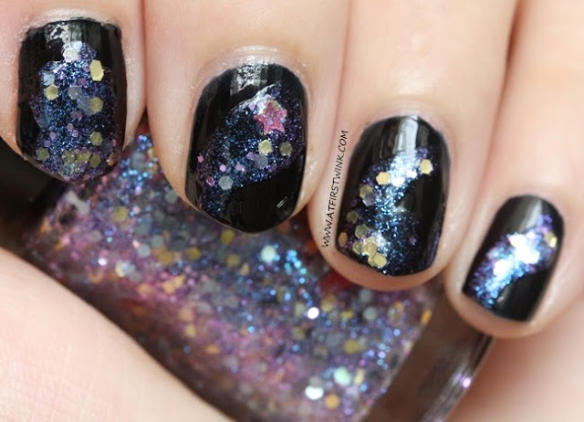 Modi nail set: galaxy nails
