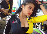 Bibie Julius for Event Indonesian Series Of Motorsport 2012