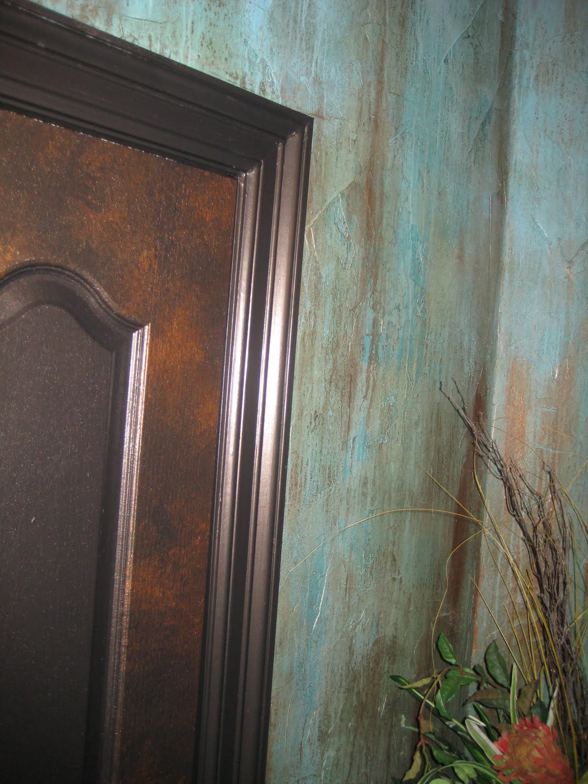 Fauxcus pocus faux painting Faux finishes for kitchen walls