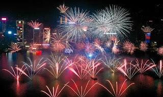 Imagen festejo año nuevo 2014