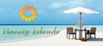 Beauty Island for holiday, wedding, couple, vacation destination