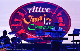 Alive India Concert - Bangalore - Parmita Borah photography